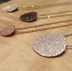 Phillips House diamond necklaces.