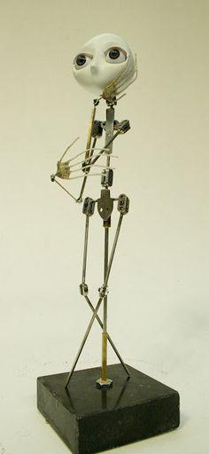 Christine Polis: Stop-motion puppets