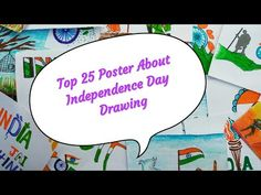 25 Poster About Independence Day Drawing || Independence Day Special || Independence Day 🇮🇳🇮🇳 - YouTube Independence Day Drawing, Independence Day Special, Drawings, Youtube, Poster, Art, Art Background, Kunst, Sketches