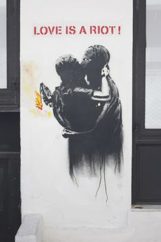 Love is a riot Photo Archive, Graffiti Art, Urban Art, Athens, Event Planning, Travel Photos, Street Art, Facebook Website, Greek