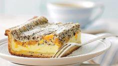 Tvarohový koláč s mandarínkami a makom | Recepty.sk