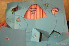 Create your own Treasure Map, Yo-Ho-Ho, on a treasure hunt we go!