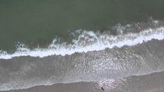 Jax Beach 16th St Waves drone footage