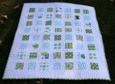 Quilt - maybe I could use those new charm squares