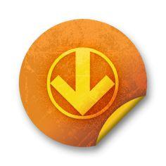 Circled Down Arrow Icon #008879 » Icons Etc