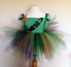 Woodland Fairy Tutu Dress by TootieBooBowtique on Etsy
