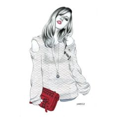 Fashionarium ❤ liked on Polyvore featuring sketches, drawings, backgrounds, illustrations and art