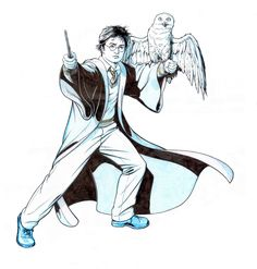 Harry Potter And Hedwig Hedwig Pinterest Harry Potter - 1200x1258 - jpeg