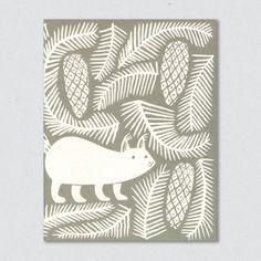 Snow Squirrel / Lisa Jones Studio