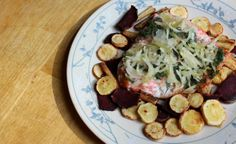Dill Saurkrout Salmon   Strength and Sunshine