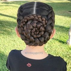 """✨""""If you're still trying you have not failed.""""✨ . Boxer braids into a braided bun check my IG story for a video view of this style . I was unable to recreate one of her styles but still wanted to share that my thoughts and prayers go out to @frances987 her family and everyone who was affected by hurricane Harvey. #HoustonStrong #friendsoffrances . Wishing you a happy Tuesday! . #pr3ttyhairstyles #abc7eyewitness #braids #braidstyles #braidsforlittlegirls #braided #braidedupdo #..."""