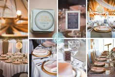 Hourglass Imaging Fall Wedding, Trillium Trails Wedding Photography | Pink & Gold Decor