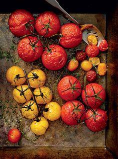 Tomato recipe: Slow-roasted tomatoes {PHOTO: Clinton Hussey}