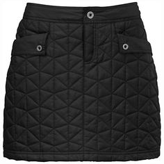 The North Face Women's Runaway Insulated Skirt---I know we didn't want to do the skirt awhile ago, but I think it actually has a practical use. Throw it on over long underwear and you've got a street style combined with warmth and your ski clothing.