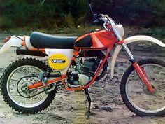GORI Scorpion 50 Sachs H2o (liquide ) Enduro Vintage, Vintage Motocross, Vintage Bikes, 50cc, Dirt Bikes, Vintage Italian, Motorbikes, Old School, Racing