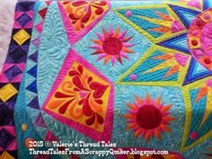 Thread Tales from a Scrappy Quilter: Sedona Star