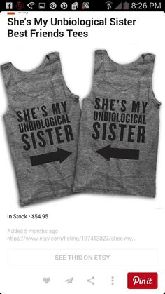 """She's my """"unbiological"""" sister!!"""