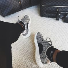 Kanye West's Yeezy Boost 350 Sneakers Will Be Hard to Snag—Here's How to Try from InStyle.com