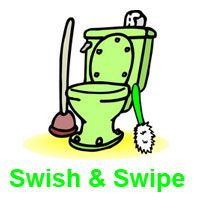 How to Swish and Swipe. A two minute podcast.http://shop.flylady.net/pages/FlyShop_ss_package.asp