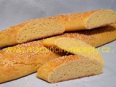 Bezlepkové bagety Hot Dog Buns, Hot Dogs, Bread, Food, Brot, Essen, Baking, Meals, Breads