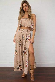 3f75fd70515 Beautiful in Creme Set Boho Dress