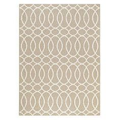 Essential Home Regency Rug Collection- Symmetry Beige Cream