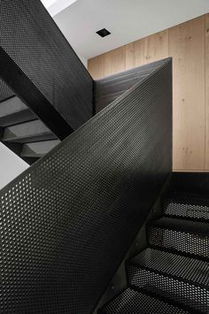 Image result for perforated steel balustrade internal staircase