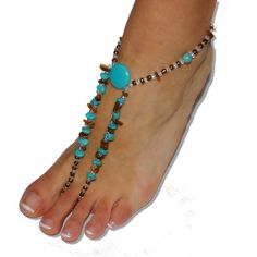 Items similar to Barefoot Sandals - Forever Hippie on Etsy Bare Foot Sandals, Barefoot, Turquoise Necklace, Trending Outfits, Unique Jewelry, Handmade Gifts, Etsy, Vintage, Fashion