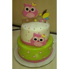 torta buho - Buscar con Google Owl First Birthday, Owl Birthday Parties, Birthday Cake, Owl Cakes, Bird Cakes, Cupcake Cakes, Torta Baby Shower, Shower Cakes, Paw Patrol Birthday Decorations