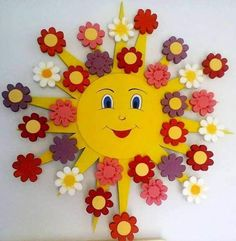 Easy Crafts Spring Crafts for Kids / Preschoolers & Toddlers to make this season of new beginnings - Hike n Dip Kids Crafts, Spring Crafts For Kids, Summer Crafts, Preschool Crafts, Easter Crafts, Art For Kids, Diy And Crafts, Arts And Crafts, Craft Work For Kids