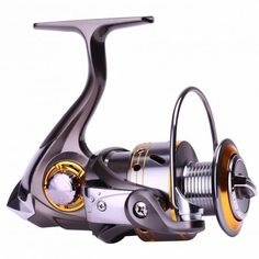 Spinning Fishing Reels Left/right Freshwater Saltwater with .-Spinning Fishing Reels Left/right Freshwater Saltwater with Gear Ratio 13 Ball Bearings Fishing Reel Best Fishing, Fishing Tackle, Fishing Tips, Fly Fishing, Crappie Fishing, Fishing Rods And Reels, Rod And Reel, Fishing Boats, Pesca Spinning