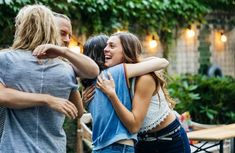 A Group Of Friends Embrace Excited To See Each Other At Barbecue Meetup Photogra , Feeling Sick, How Are You Feeling, Causes Of Fatigue, Psychological Science, Signs Of Anxiety, Hormone Replacement Therapy, Lack Of Energy, Behavior Change, Group Of Friends