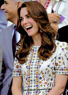 """slaybridges: """" The Duchess of Cambridge excited over Andy Murray's game-winning match !! """""""
