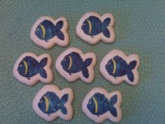 Stamped  Colored Cookies by Carmen