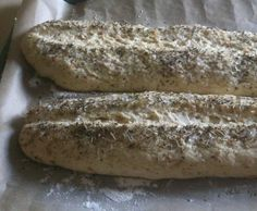 Rezept Zwiebel-Kartoffel-Baguette von MrAndre - Rezept der Kategorie Brot & Brötchen