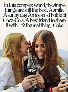Robin Mattson and Rita Wilson for Coca Cola, 1976