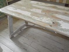 Farm House Door Trestle Table