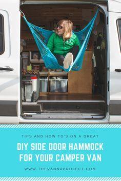 DIY Side Door Hammock || www.thevannaproject.com