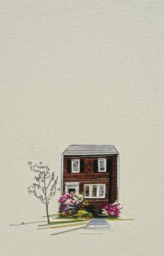 When Embroidery Meets Art And Architecture: Intimate Sewings Of Homes - DesignTAXI.com