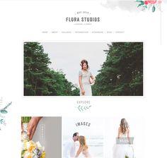 FLORA. #website #design