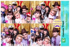 #PhotoBooth at #StaffParty for TD Vancouver by http://www.paradiseevents.com/photo-booth-rental/ #PartyIdeas #PhotoboothBackdrop #Photobooth