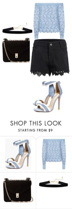 """""""Untitled #13"""" by dedic-elvira ❤ liked on Polyvore featuring Boohoo, Robert Rodriguez and Valentino"""