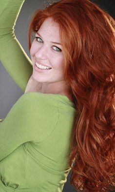 Redhead with green eyes ; Red Hair Freckles, Redheads Freckles, Stunning Redhead, Beautiful Red Hair, I Love Redheads, Hottest Redheads, Shades Of Red Hair, Red Hair Color, 50 Shades