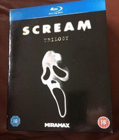Scream Trilogy (Blu-ray, 2011, 3-Disc Set, Box Set)