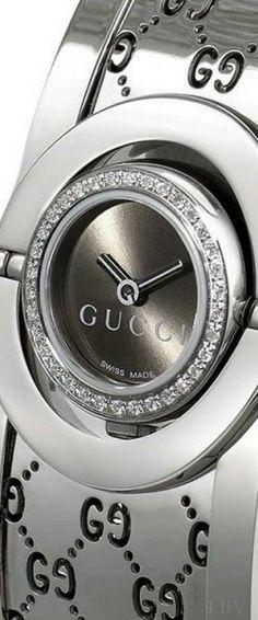 silver.quenalbertini: Gucci Silver Watch