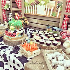 farm birthday candycorner