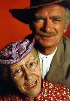 Irene Ryan and Buddy Ebsen ( Granny and Jed , the Beverly Hillbillies)