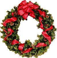 Printable Mini Dollhouse Christmas Wreath