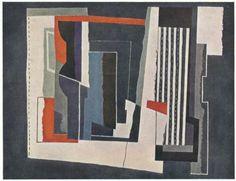 Superb 1944 John Piper Vintage Print: Abstract Painting | eBay