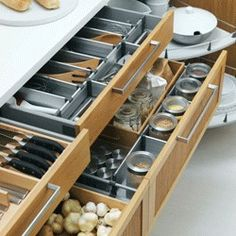 Ikea cabinet drawers - wish there was one in Anchorage!